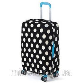 Чехол для чемодана Bonro большой горошек (12052412) XL