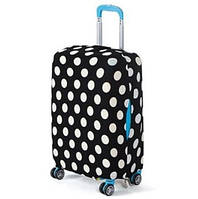 Чехол для чемодана Bonro S черно-белый (111111)