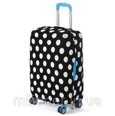 Чехол для чемодана Bonro большой XL горошек, фото 2