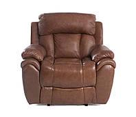 Кожаное кресло с реклайнером BOSTON (106 см)