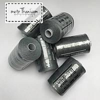 Нитки швейные 40/20 100 ярдов, цвета стали № N-1000-316