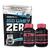 Комплект Biotech Active Woman Протеїн та Карнітин