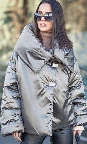 Модная куртка-одеяло