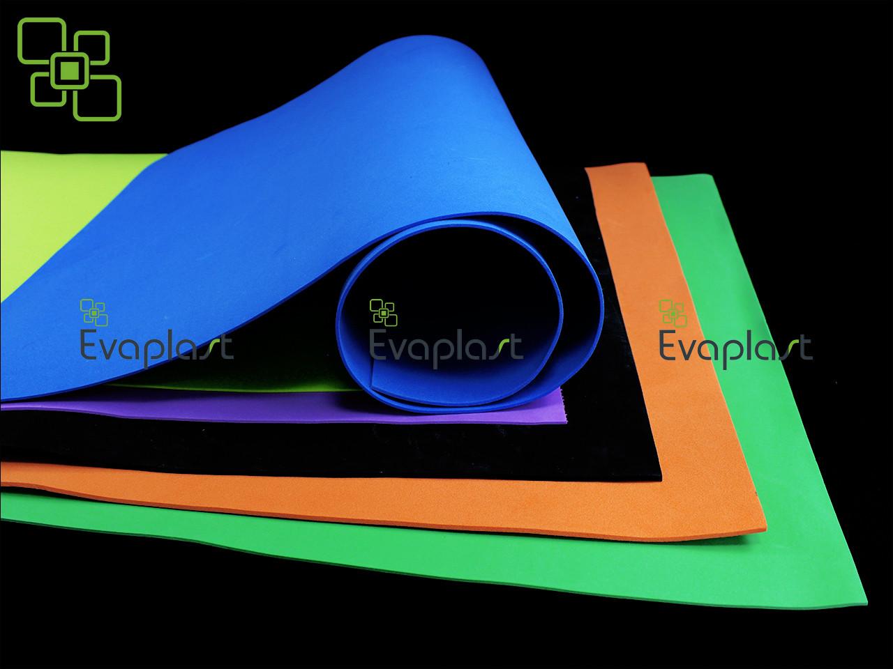 Evaplast материал, EVA 3075 (этиленвинилацетат) — 3 мм/синий, фото 1
