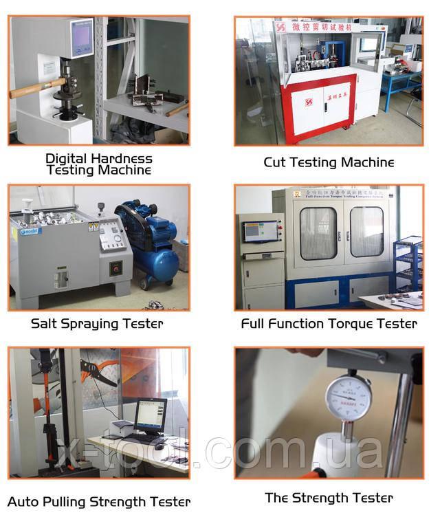 Проверка качества на заводе Harden Tools
