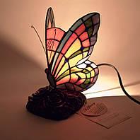"""Лампа настольная """"Бабочка"""" (23х15х12 см) - оригинальный подарок себе и своим родным и близким"""