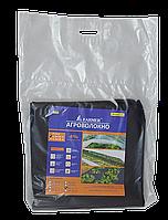 Агроволокно для мульчирования, плотность 50 г/м2, черное, пакет 1.6х10