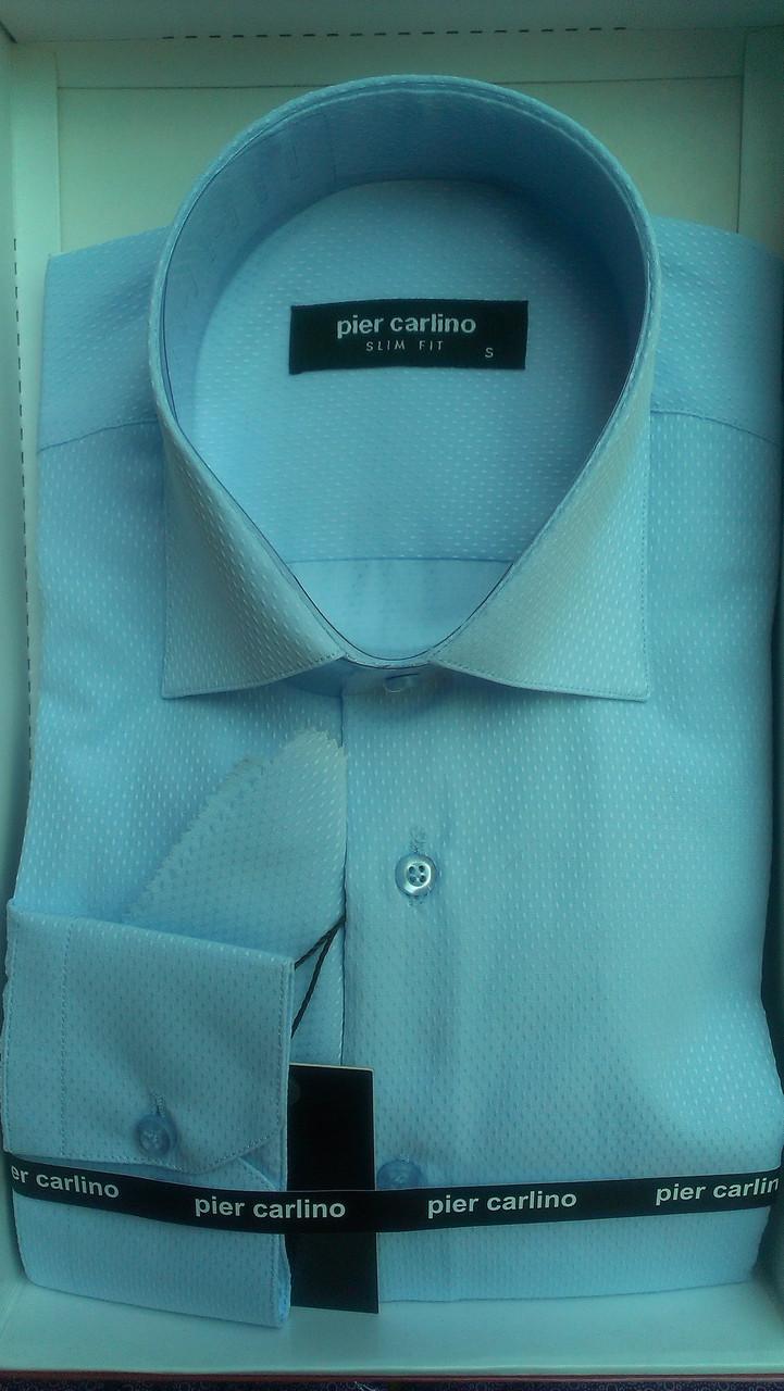 Елегантна Чоловіча сорочка з довгим рукавом Pier Carlino