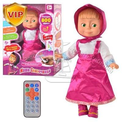 Интерактивная кукла Маша-сказочница с р/у ММ 4614 (800 фраз)***
