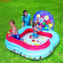 Детский надувной игровой центр бассейн BestWay 91015 Микки Маус***
