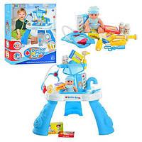Игровой набор Доктор столик с инструментами детский 8332