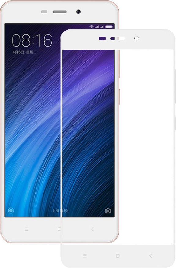 Защитное стекло Mocolo 2.5D Full Cover Tempered Glass Xiaomi Redmi 4 Note White