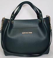 Женская сумка Michael Kors зеленого цвета
