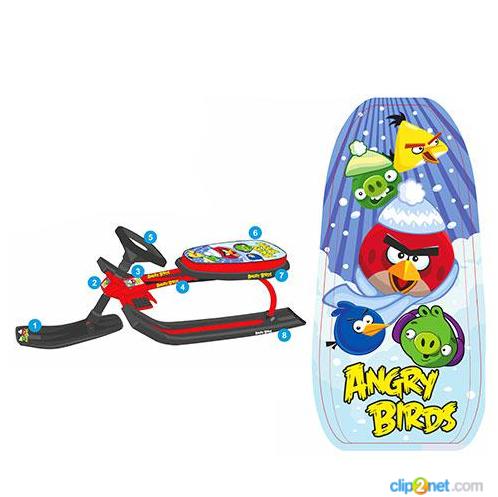 Снегокат Angry Birds MS 0898