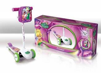 Самокат трёхколёсный Disney Fairies SD 0115***