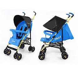 Коляска-трость TILLY Smart SB-0007 BLUE***