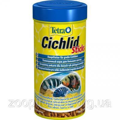 Корм TETRA (Тетра) CICHLID Sticks палочки для всех видов цихлид