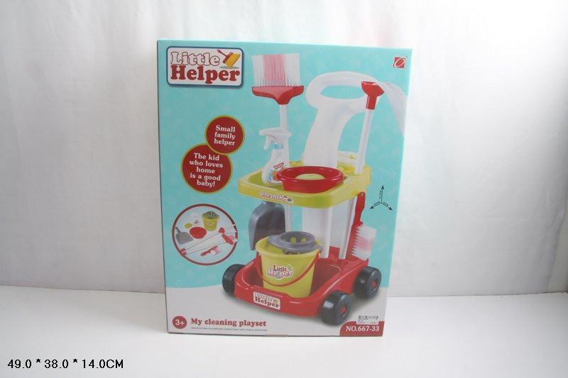 Детский игровой набор для уборки 667-33
