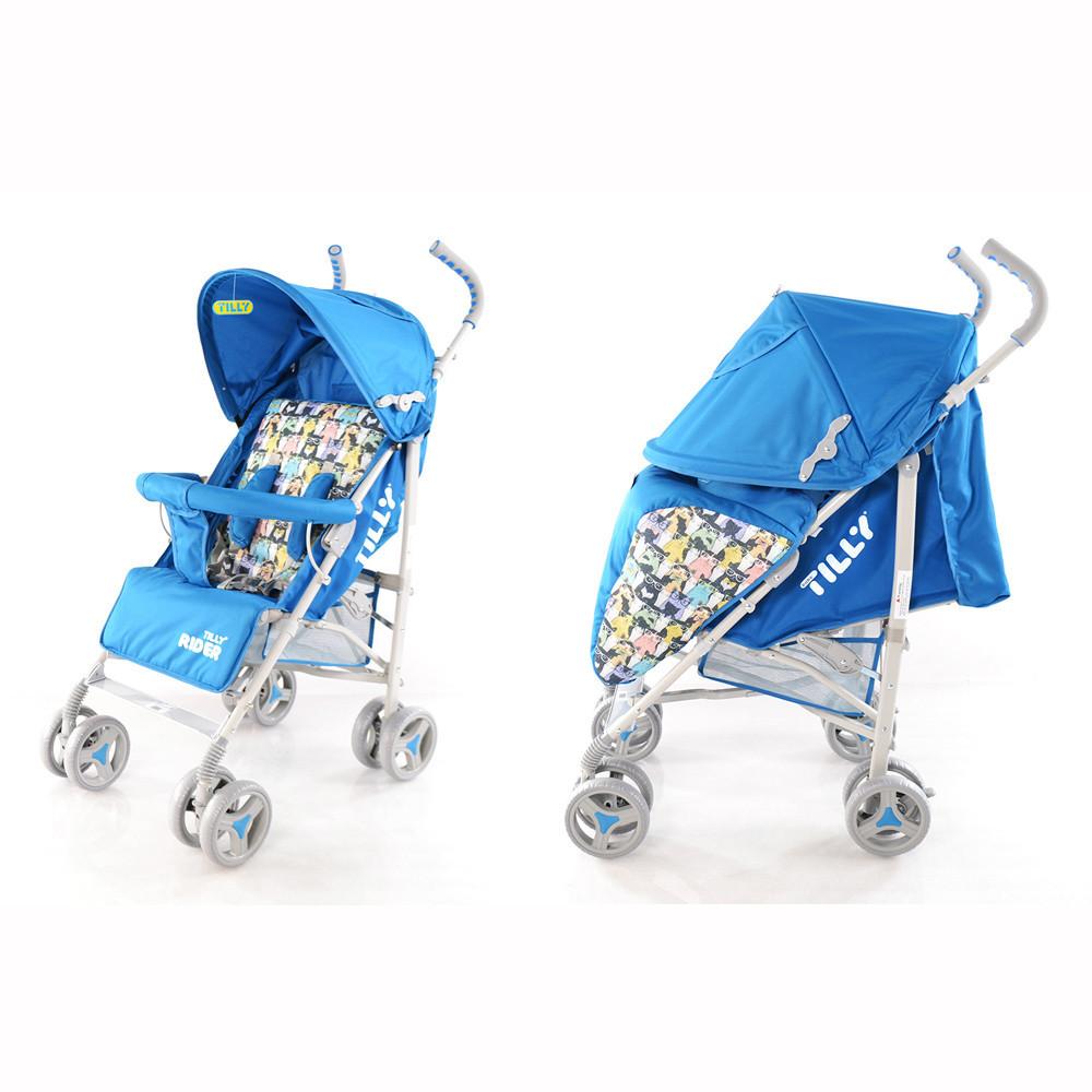 Коляска прогулочная TILLY Rider BT-SB-0002 BLUE (New)***