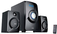 Акустическая система Golden Field LA165C Black 15W+2*11.5W MP3 player + FM + Bluetooth