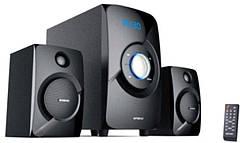 Акустична система Golden Field LA165C Black 15W+2*11.5 W MP3 player + FM + Bluetooth