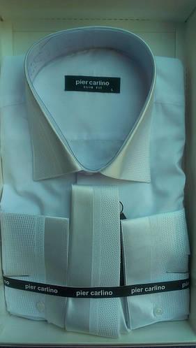 Элегантная Мужская рубашка Pier Carlino с галстуком