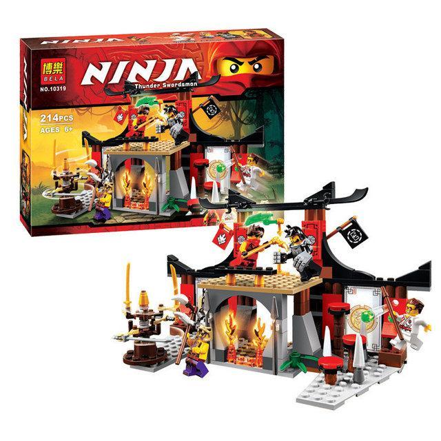 """Конструктор Bela Ninja 10319 """"Вирішальна Битва"""" 214 деталей"""