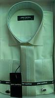Элегантная Мужская рубашка с галстуком  под  запонку Pier Carlino