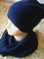 Шапка  зимняя с шарфиком хомут