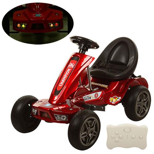Детский Электромобиль Карт M 1558ERS-3, EVA колеса, красный автопокрас
