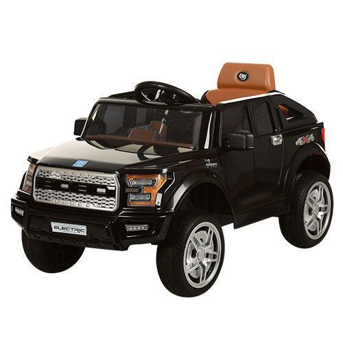 Детский электромобиль Джип JJ 252 EBR-2,колеса EVA,черный***