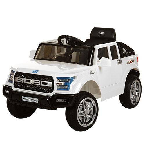 Детский электромобиль Джип JJ 252 EBR-1,колеса EVA,белый ***