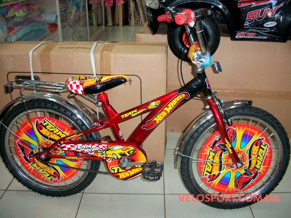 Детский велосипед Mustang Hotwheels 20 дюймов