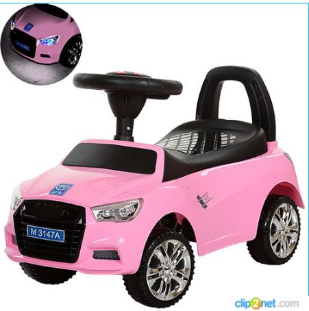 Каталка-толокар Bambi M 3147A-8 Audi(ауди),розовая***