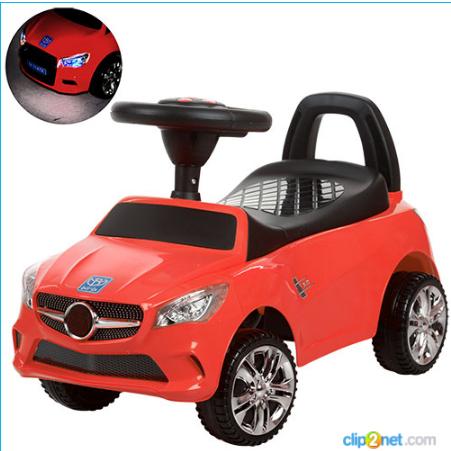 Каталка-толокар Bambi M 3147C-3 Mercedes,красный ***