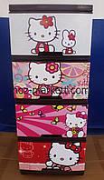 "Комод пластиковый на 4 ящика ""Hello Kitty"""