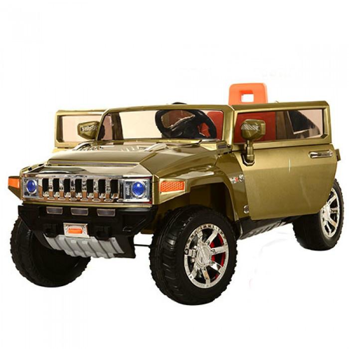Детский электромобиль Джип Hummer M 2798 EBRS-10 , автопокраска, темно