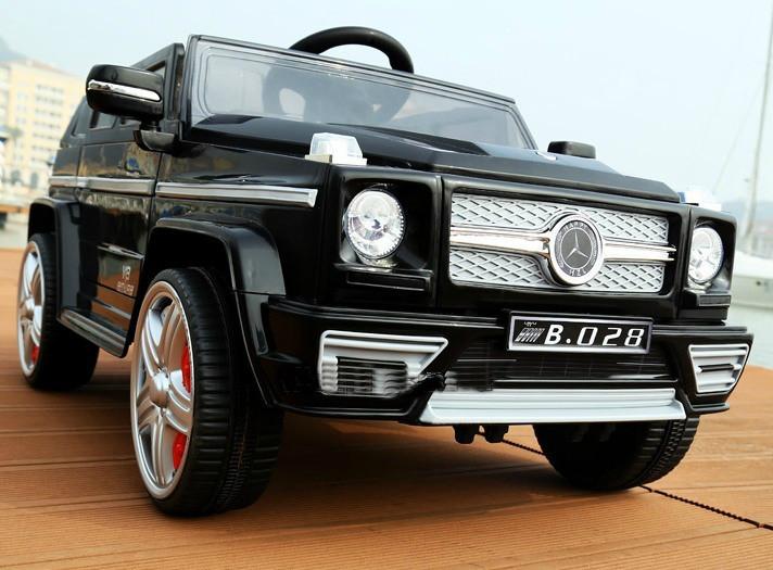 Детский электромобиль Джип Mercedes M 3173 EBR-2,черный ***