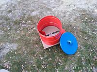 Корморезка с загрузочным баком (со шкивом под электродвигатель)