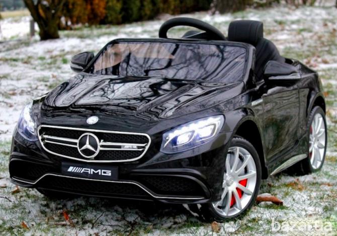 Детский электромобиль Mercedes M 2797 EBRS-2, автопокраска ЧЕРНАЯ***