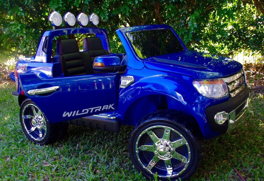 Детский электромобиль Ford Ranger M 2764 EBLRS-4, автопокраска, кожа,