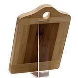 Разделочная доска Fissman 20 см (Бамбук), фото 2