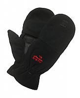 Мужские варежки Fleece черные Tramp TRCA-006, фото 1
