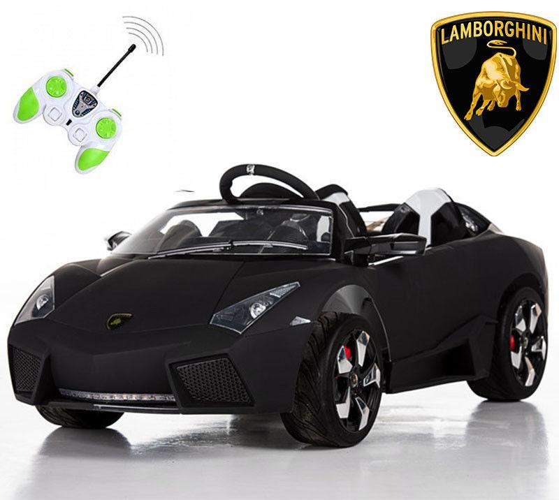 Электромобиль детский Ламборджини FT-518 автопокраска,черный***