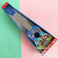 Гитара игрушечная Щенячий Патруль: 53 см, медиатор, струны 4шт, в коробке, 55-19-7 см
