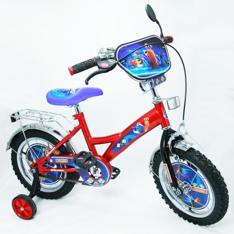 Велосипед Турбо 14 BT-CB-0002 красный с черным, система: