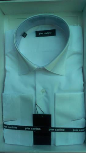 Элегантная Мужская рубашка с длинным рукавом Pier Carlino