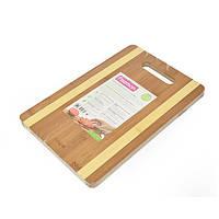 Доска торговой компании Fissman 28х20х1,5 см(бамбук), фото 1