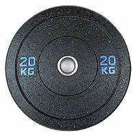 Бамперний кольоровий диск Stein 20 кг
