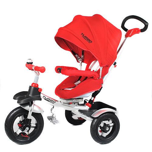 Велосипед трехколесный Turbo Trike M 3196A, красный***